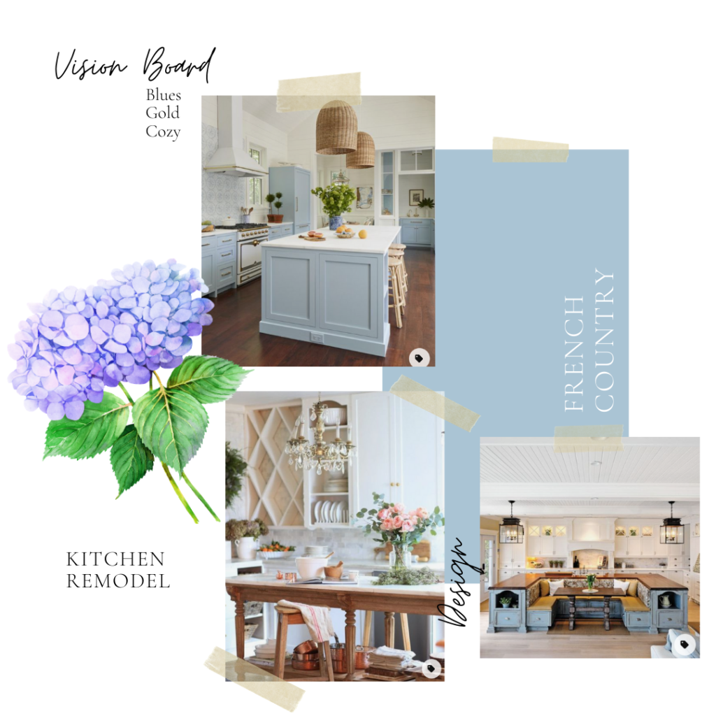 Kitchen Remodel Inspiration and Vision Board